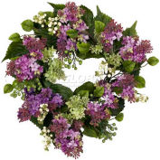 Nearly Natural 20'' Hanel Lilac Wreath
