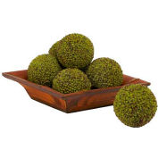 Nearly Natural 4'' Berry Ball (Set of 6)