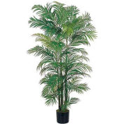 Nearly Natural 6' Areca Silk Palm Tree