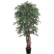 Nearly Natural 6' Smilax Silk Tree