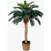 Nearly Natural 4' Sago Silk Palm Tree