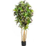 Nearly Natural 5' Croton Silk Tree