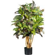 Nearly Natural 3' Croton Silk Tree