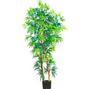 Nearly Natural 5' Curved Bamboo Silk Tree