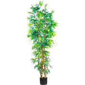 Nearly Natural 7' Curved Bamboo Silk Tree