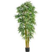 Nearly Natural 7' Big Bamboo Silk Tree