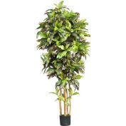 Nearly Natural 6' Croton Silk Tree