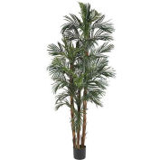 Nearly Natural 6' Robellini Palm Silk Tree