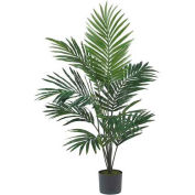 Nearly Natural 5' Kentia Palm Silk Tree