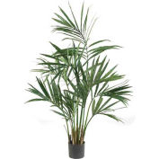 Nearly Natural 5' Kentia Palm Silk Tree, Green