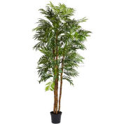 Nearly Natural 6' Bella Palm Silk Tree
