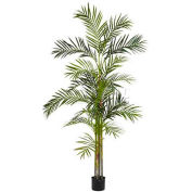 Nearly Natural 6' Areca Palm Silk Tree, Green