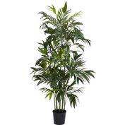 Nearly Natural 6' Bamboo Palm Silk Tree, Green