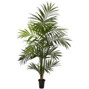 Nearly Natural 7' Kentia Palm Silk Tree