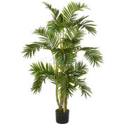 Nearly Natural 4' Areca Palm Silk Tree, Green