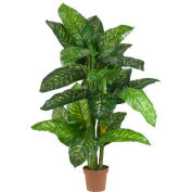 Nearly Natural 5' Dieffenbachia Silk Plant