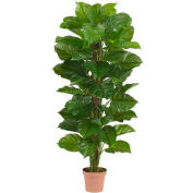 Nearly Natural 63'' Large Leaf Philodendron Silk Plant