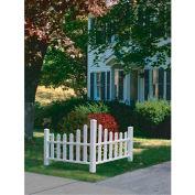 """New England Arbors® VA20234 Country Corner Picket, 48.5"""" x 48.5"""" x 31.6"""""""
