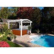 """New England Arbors® VA42011 Bellagio Pergola, 120"""" x 120"""" x 108.25"""""""