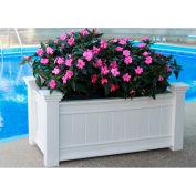 "New England Arbors® Windsor Long Planter Box, 15-3/5"" x 41-5/7"" x 18-2/5"""