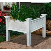 "New England Arbors® Mayfair Raised Planter, 3' x 3', 36"" x 36"" x 34"""