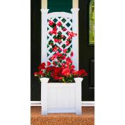 "New England Arbors® VA68221 Kensington Box & Trellis, 20"" x 23"" x 63.7"""