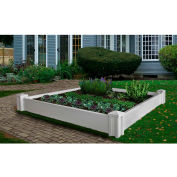 """New England Arbors® Versailles Garden Bed, 65"""" x 65"""" x 9"""""""