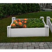 "New England Arbors® Sutton Raised Garden Bed, 48"" x 48"" x 11"""