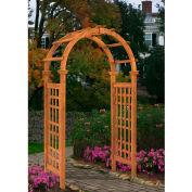 "New England Arbors® VA68894 Rosewood Arbor, 24"" x 47"" x 88.7"""