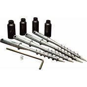 "New England Arbors® VA80050 Aussie Augers For 5 X 5"" Post, 4.625"" x 4.625"" x 24"""