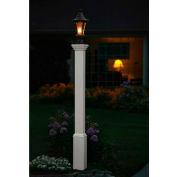 "New England Arbors® Madison Lamp Post, 6"" x 6"" x 74"""