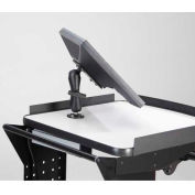 """Newcastle Systems B116 Surface Mounted Flat Screen Holder (75/100mm), 7"""" Arm"""