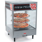"Rotating Pizza Display - 4 Tier w/ 18"" Racks"