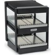 "Nemco 6480-18S-B - Slanted, Dual Shelf, 18"" Powder Coat Black"