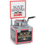 NEMCO® 6510A-S7P, Soup Merchandiser, Single 7 Qt Well, Without Header