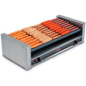 NEMCO® 8045W-SLT, Slanted Roll-A-Grill, Stainless Steel/Aluminum, 45 Hot Dogs, 120 Volt