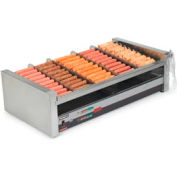 NEMCO® 8230-SLT, Slanted Roll-A-Grill, Stainless Steel/Aluminum, 30 Hot Dogs, 120 Volt