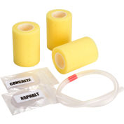 """Newstripe RollMaster™ 1000 Replacement Roller Kit, 4"""" Rollers, 3/Pack"""