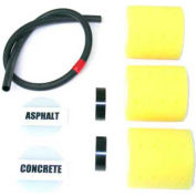 """Newstripe RollMaster™ 1000 Replacement Roller Kit, 3"""" Rollers, 3/Pack"""