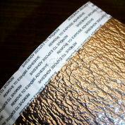 "NOFP Solex™ Radiant Insulation Barrier SOL4125RT, 125'L X 1/4""H, Reflective (2x) W/Tape"