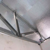 """NOFP SolexLT™ Radiant Insulation Barrier SOLLT4250RP, 250'L X 1/8""""H, Reflect (2x) & Perforated"""