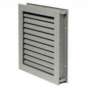 """National Guard L-1900 Fire-Rated Fusible Link Louver 18-5/8""""L x 24-5/8""""W"""