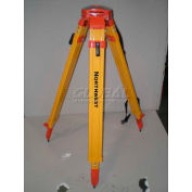 Northwest Instruments NAT93 Contractors Flat Head Quick Clamp Powder Coated Yellow Tripod