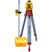 Northwest Instruments NEXPK800 Automatic Rotary Laser Level Kit w/ Tripod