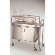 NK Medical Bassinet Extender Shelf 7028-EX, Stainless Steel