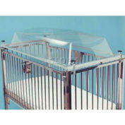 """NK Medical Bubble Top C1981A, For 30""""W X 60""""L Child Crib"""