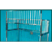 """NK Medical Youth Cage Top C2002, Standard, Aluminum, For 36""""W X 72""""L"""