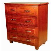 "NK Medical Chest, Lexington, 4 Drawers, 32-1/2""W X 17""D X 40""H, Honey Maple"
