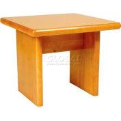 "NK Medical Butcher Block End Table NV-BBET, 24""W X 24""D X 20""H"