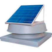 Natural Light Energy Systems SAF20CM Curb Mounted Solar Attic Fan - 20 Watts